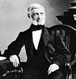 George Bancroft Phototgraphy by Mathew Brady (Credit: Courtesy of the Library of Congress, Washington,D.C.)