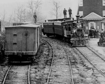 Station at Hanover Junction,PA