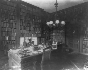 George Bancroft in his study
