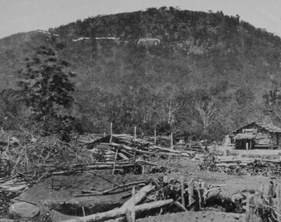 Union entrenchments near Kenesaw Mountain, Ga., 1864.111-B-531.