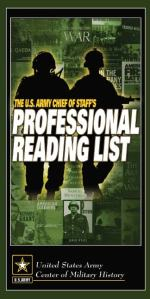 Professional Military Reading List Links Added
