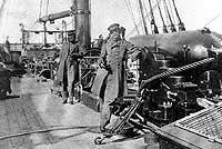 Captain Raphael Semmes on the CSS Alabama