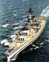 USS Wisconsin circa 1988-91