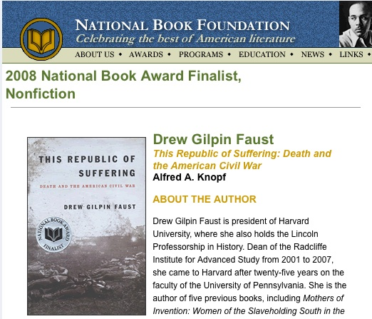 2008 National Book Award Finalists in Non-Fiction
