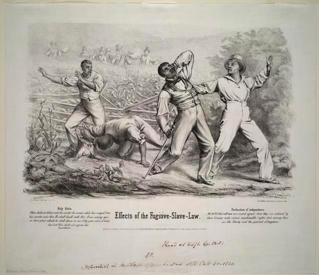 Fugitive Slave Law Backfires