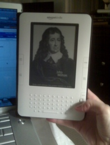 My new Amazon Kindle 2