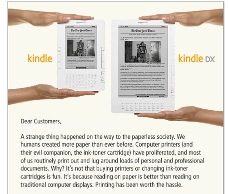 Kindle 3 DX Announced! Yes I've Pre-ordered Mine