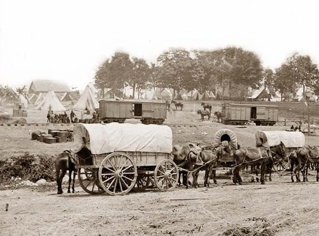 Civil War Wagons