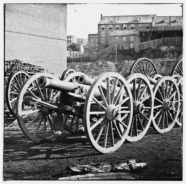 Unknown location. 6-pdr. field gun, model 1841 Source: LOC: Digital ID: cwpb 02256