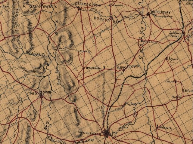On Geography Lessons and Civil War Cartography