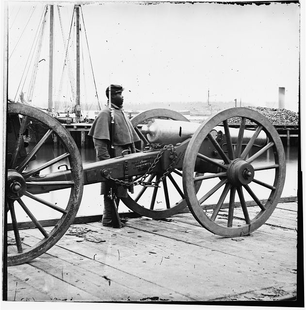 Unknown location. 12-pdr. Napoleon (model 1857?) Source: LOC Digital ID: cwpb 01981