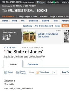 State of Jones on WSJ